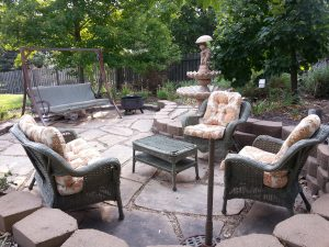 My Back Patio Today