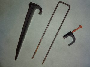 Stake, Staple and C-Clamp