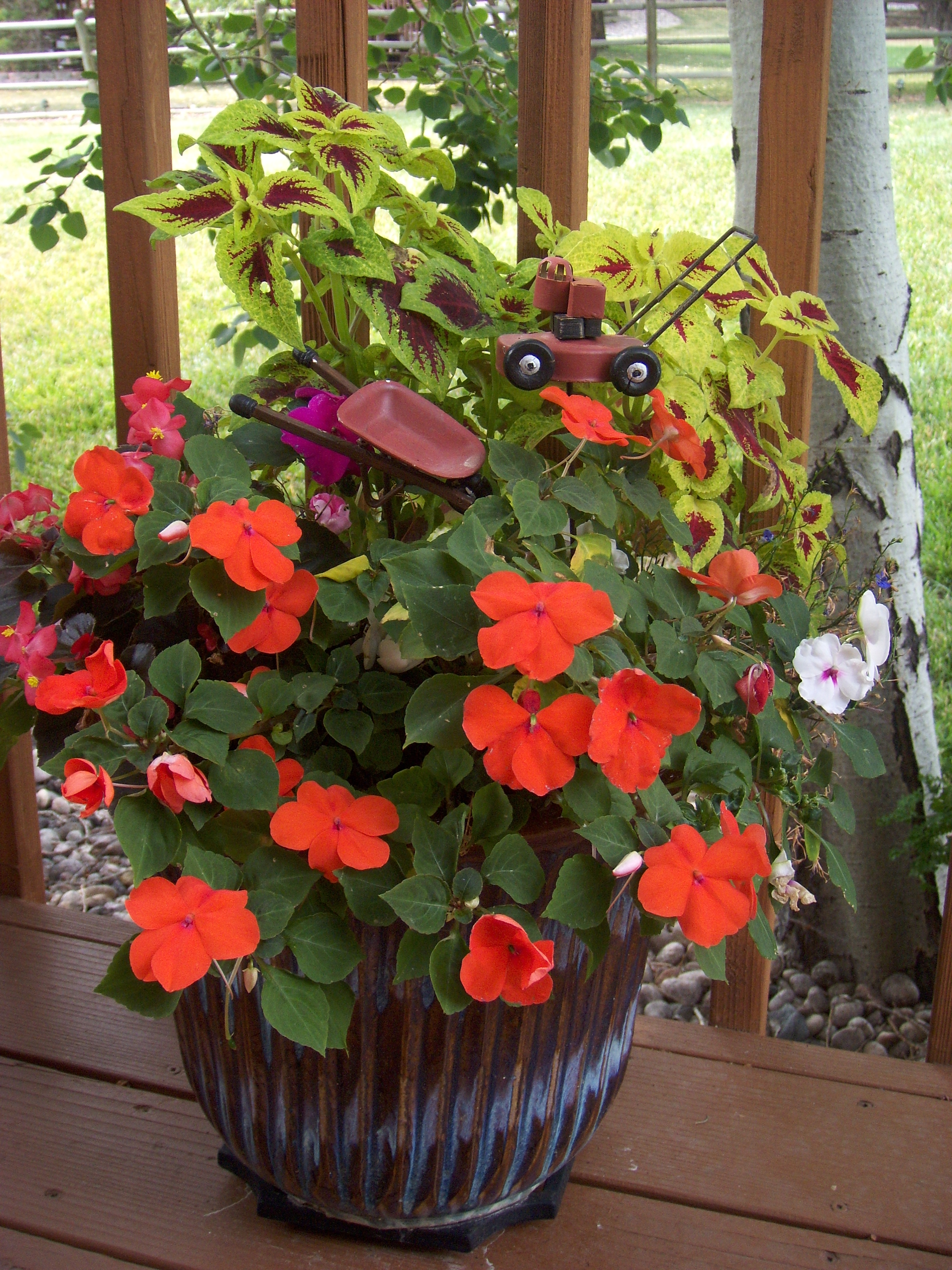Container Planting Service Starts in May